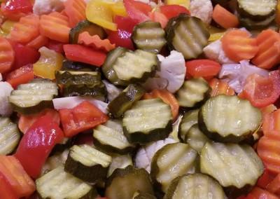 le nostre verdure agrodolce