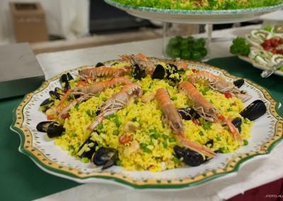 paella a buffet