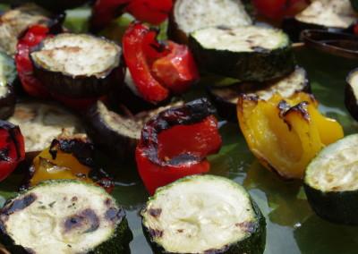 spiedini verdure grigliate