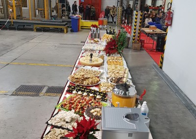 buffet presso  Voestalpine Bohler Welding Fileur